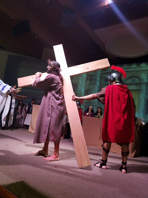 Live Station of the Cross 2017