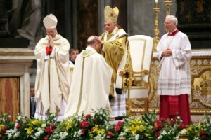 Pope Benedict XI Ordains New Bishops